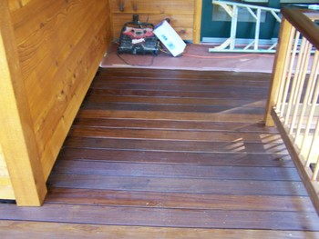 Deck Staining by Gildersleeve Painting
